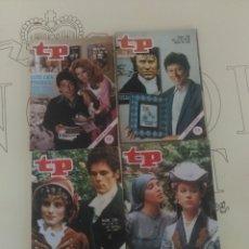 Coleccionismo de Revista Teleprograma: 4 REVISTAS TP N'731-732-735-736.. Lote 54607854