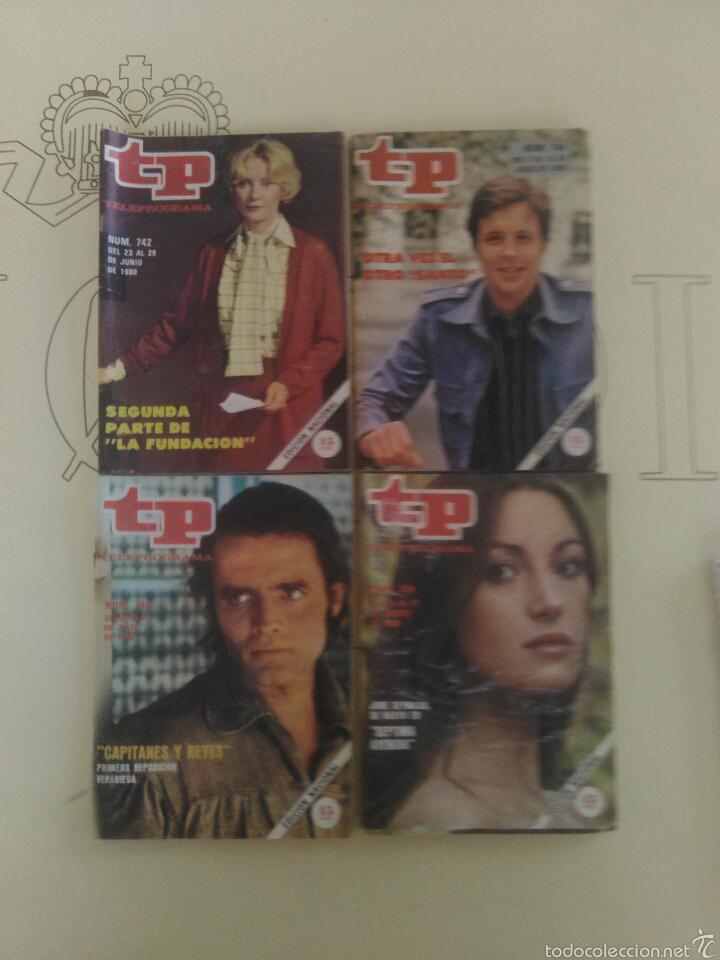 4 REVISTAS TP N'742-744-746-749. (Coleccionismo - Revistas y Periódicos Modernos (a partir de 1.940) - Revista TP ( Teleprograma ))