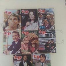 Coleccionismo de Revista Teleprograma: 8 REVISTAS TP N'750-751-753-754-755-756-759.. Lote 54607993