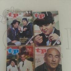 Coleccionismo de Revista Teleprograma: 4 REVISTAS TP N'760-763-764-765.. Lote 54608047