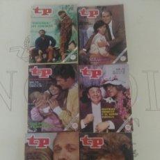 Coleccionismo de Revista Teleprograma: 6 REVISTAS TP N'773-774-775-776-777-778.. Lote 54608085