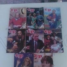 Coleccionismo de Revista Teleprograma: 8 REVISTAS TP N'780-783-784-785-786-787-788-789.. Lote 54608149