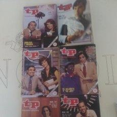 Coleccionismo de Revista Teleprograma: 6 REVISTAS TP N'792-793-794-796-797-798.. Lote 54608215