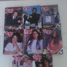 Coleccionismo de Revista Teleprograma: 8 REVISTAS TP N'830-832-834-835-836-837-838-839.. Lote 54610593