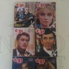 Coleccionismo de Revista Teleprograma: 6 REVISTAS TP N'850-851-854-856-858-859.. Lote 54610837