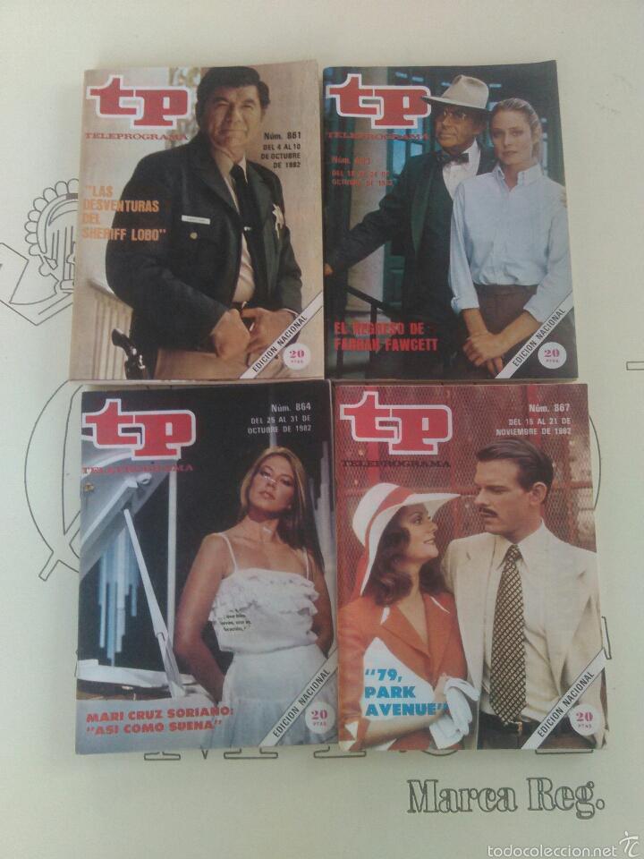 4 REVISTAS TP N'861-863-864-867. (Coleccionismo - Revistas y Periódicos Modernos (a partir de 1.940) - Revista TP ( Teleprograma ))