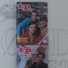 Coleccionismo de Revista Teleprograma: 2 REVISTAS TP N'880 Y 881.. Lote 54611130