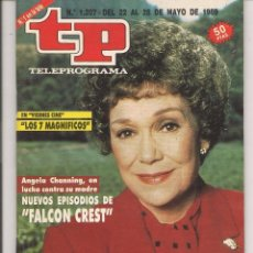 Coleccionismo de Revista Teleprograma: TP. TELEPROGRAMA. Nº 1207. FALCON CREST. DEL 22 AL 28 MAYO 1989. (P/D41). Lote 54624086
