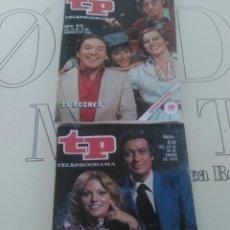 Coleccionismo de Revista Teleprograma: 2 REVISTAS TP N'616 Y 619 AÑO 1978.. Lote 54631501