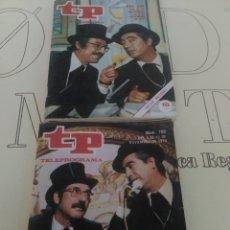 Coleccionismo de Revista Teleprograma: 2 REVISTAS TP N'608-709TIP Y COLL AÑOS 1977-1979.. Lote 54631564