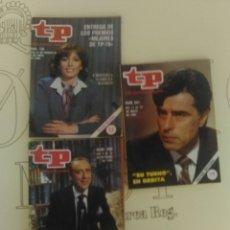 Coleccionismo de Revista Teleprograma: 3 REVISTAS TP N'730-809-841 AÑOS 1980-81-82.. Lote 54631629