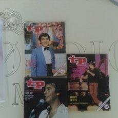 Coleccionismo de Revista Teleprograma: 3 REVISTAS TP N'733-734-811 AÑOS 1980 Y 1981.. Lote 54631680
