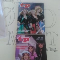 Coleccionismo de Revista Teleprograma: 2 REVISTAS TP N'779 Y 855 AÑOS 1981-82.. Lote 54631738