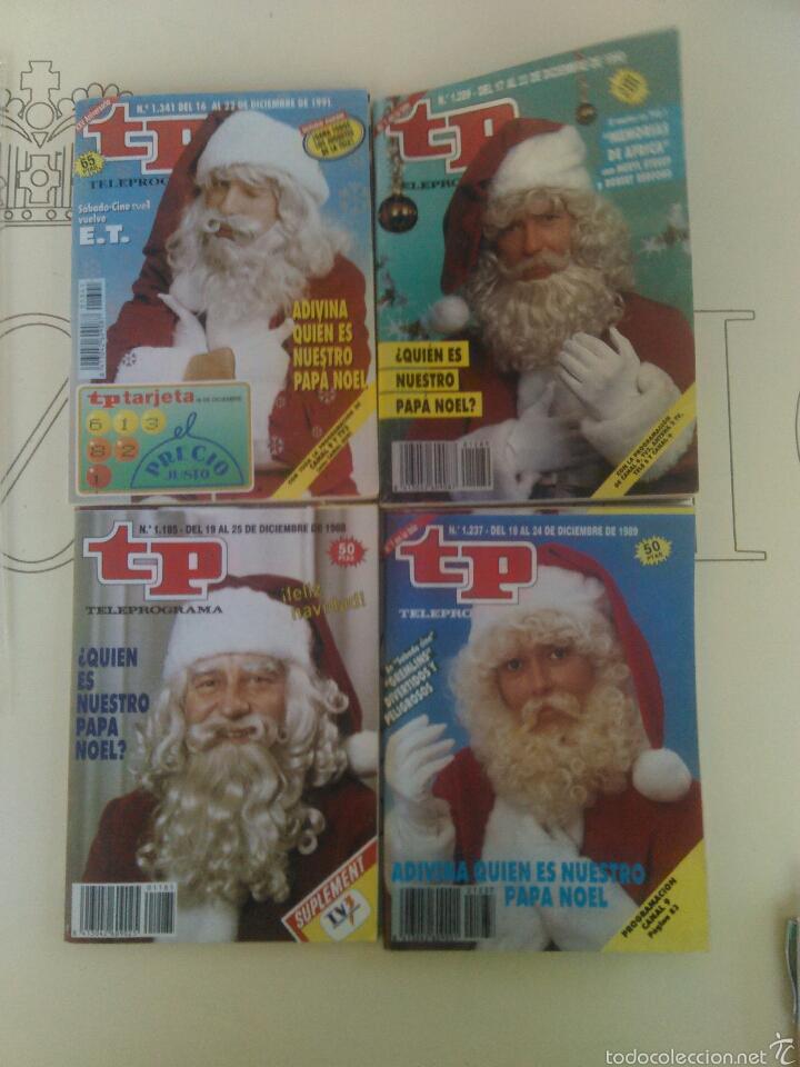 4 REVISTAS TP N'1185-1289-1237-1341. (Coleccionismo - Revistas y Periódicos Modernos (a partir de 1.940) - Revista TP ( Teleprograma ))