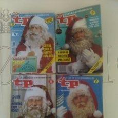 Coleccionismo de Revista Teleprograma: 4 REVISTAS TP N'1185-1289-1237-1341.. Lote 54631793