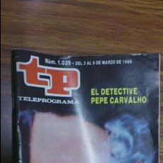 Coleccionismo de Revista Teleprograma: REVISTA TP N 1039 DE 1986. Lote 55067465