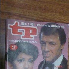 Coleccionismo de Revista Teleprograma: REVISTA TP N 1061 DE 1986. Lote 55079728