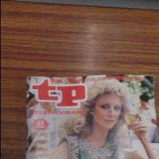 Coleccionismo de Revista Teleprograma: REVISTA TP N 1075 DE 1986. Lote 55093547