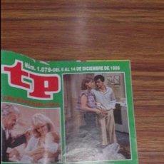 Coleccionismo de Revista Teleprograma: REVISTA TP N 1079 DE 1986. Lote 55094199
