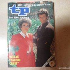 Coleccionismo de Revista Teleprograma: TP TELEPROGRAMA Nº 1049,1986 VUELVE FALCON CREST. Lote 56021724