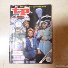 Colecionismo da Revista Teleprograma: TP TELEPROGRAMA Nº 1042 UN,DOS,TRES.1986.. Lote 56021850