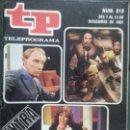 Coleccionismo de Revista Teleprograma: TP TELEPROGRAMA 818 LO MEJOR Y LO PEOR (1981). Lote 56279729