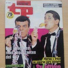 Coleccionismo de Revista Teleprograma: TP TELEPROGRAMA 1657 MARTES Y TRECE (1998). Lote 56317855