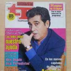 Coleccionismo de Revista Teleprograma: TP TELEPROGRAMA 1702 TÍO WILLY - ANDRÉS PAJARES (1998). Lote 56318140