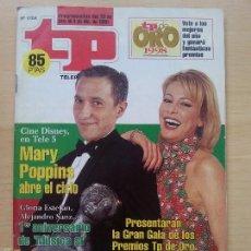 Coleccionismo de Revista Teleprograma: TP TELEPROGRAMA 1704 ANA OBREGÓN Y JAVIER SARDÁ (1998). Lote 56318146