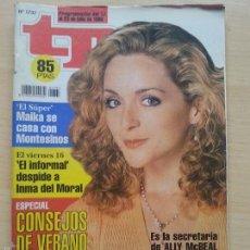 Coleccionismo de Revista Teleprograma: TP TELEPROGRAMA 1737 ALLY MCBEAL (1999). Lote 56318351