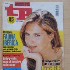 Coleccionismo de Revista Teleprograma: TP TELEPROGRAMA 1741 CARTELERA - JUDIT MASCÓ (1999). Lote 56318418