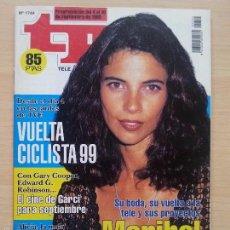 Coleccionismo de Revista Teleprograma: TP TELEPROGRAMA 1744 MARIBEL VERDÚ (1999). Lote 56318462
