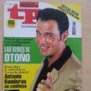 Coleccionismo de Revista Teleprograma: TP TELEPROGRAMA 1748 EL PRECIO JUSTO - CARLOS LOZANO (1999). Lote 56318547