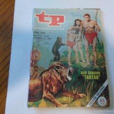 Coleccionismo de Revista Teleprograma: TP TELEPROGRAMA_TARZAN_JOHNNY WEISSMULLER Nº 966_OCTUBRE DE 1984. Lote 56626649