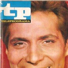 Coleccionismo de Revista Teleprograma: TP TELEPROGRAMA Nº56 MAYO 1967 SANCHO GRACIA. Lote 57384489