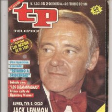 Coleccionismo de Revista Teleprograma: TP. TELEPROGRAMA. Nº 1243. DEL 29 ENERO AL 4 FEBRERO 1990. (C/V1). Lote 57606095