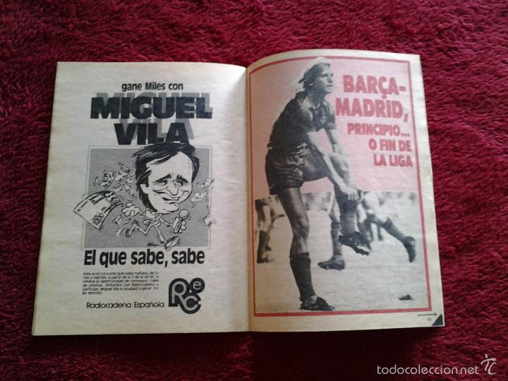 Coleccionismo de Revista Teleprograma: BARCELONA - REAL MADRID TELEPROGRAMA N. 1.022 del 4 al 10 NOVIEMBRE DE 1985 - Foto 2 - 57822142