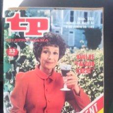 Coleccionismo de Revista Teleprograma: TP - TELEPROGRAMA - N 999 - DEL 27 MAYO AL 2 JUNIO 1985 - VUELVE FALCON CREST - CON SUPLEMENTO TV3. Lote 58065143