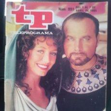 Coleccionismo de Revista Teleprograma: TP - TELEPROGRAMA - N 991 - DEL 1 AL 7 ABRIL 1985 - SEMANA SANTA CON LOS ULTIMOS DIAS DE POMPEYA -R. Lote 58065163