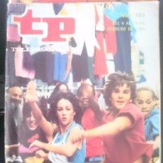 Coleccionismo de Revista Teleprograma: TP - TELEPROGRAMA - N 983 - DEL 4 AL 10 FEBRERO 1985 - EL DOMINGO VUELVE FAMA -REFM1E3. Lote 58065176