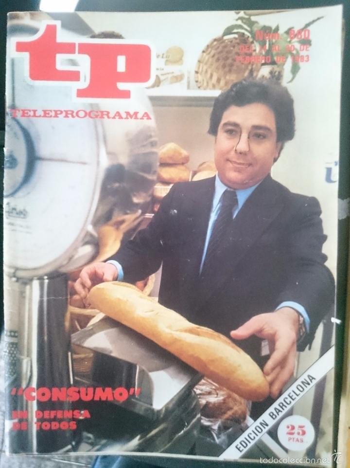 TP - TELEPROGRAMA - N 880 - DEL 24 AL 30 FEBRERO 1983 -REFM1E3 (Coleccionismo - Revistas y Periódicos Modernos (a partir de 1.940) - Revista TP ( Teleprograma ))