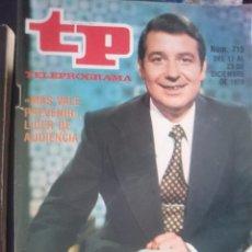 Coleccionismo de Revista Teleprograma: TP - TELEPROGRAMA - N 715 - DEL 17 AL 23 DICIEMBRE 1979 - MAS VALE PREVENIR LIDER DE AUDIENCIA -REF. Lote 58065325