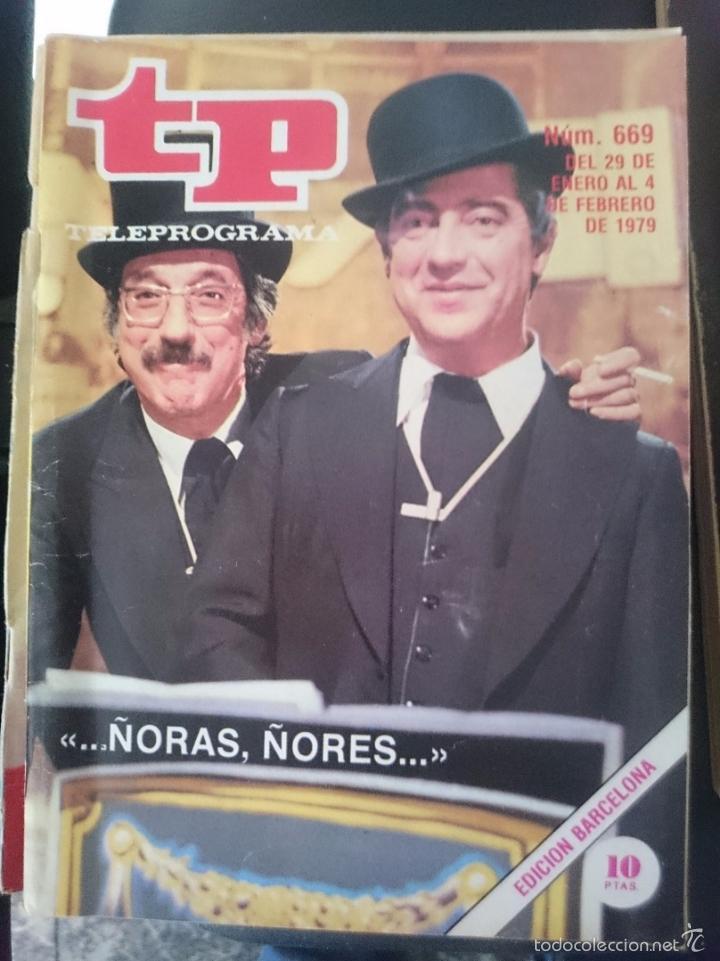 TP - TELEPROGRAMA - N 669 - DEL 29 ENERO AL 4 FEBRERO 1979 -REFM1E3 (Coleccionismo - Revistas y Periódicos Modernos (a partir de 1.940) - Revista TP ( Teleprograma ))