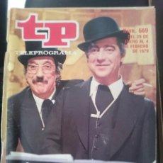 Coleccionismo de Revista Teleprograma: TP - TELEPROGRAMA - N 669 - DEL 29 ENERO AL 4 FEBRERO 1979 -REFM1E3. Lote 58065352