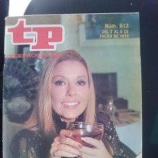 Coleccionismo de Revista Teleprograma: TP - TELEPROGRAMA - N 613 - DEL 2 AL 8 ENERO 1978 - MONICA FELIZ AÑO 78 -REFM1E3. Lote 58065382