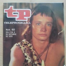 Coleccionismo de Revista Teleprograma: TP TELEPROGRAMA 652 ORZOWEI (1978). Lote 58214045