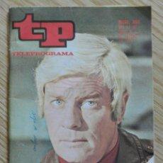 Coleccionismo de Revista Teleprograma: REVISTA TP TELEPROGRAMA Nº 330 AÑO 1972 PETER GRAVES. Lote 58655337