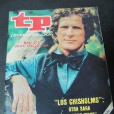 Coleccionismo de Revista Teleprograma: REVISTA TP TELEPROGRAMA Nº 957 AGOSTO 1984 LOS CHISHOLMS . Lote 58717671