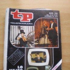 Coleccionismo de Revista Teleprograma: REVISTA TELEPROGRAMA Nº 558. Lote 59706587