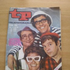 Coleccionismo de Revista Teleprograma: REVISTA TELEPROGRAMA Nº 263. Lote 59708411